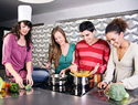 How to host a dinner and a movie party