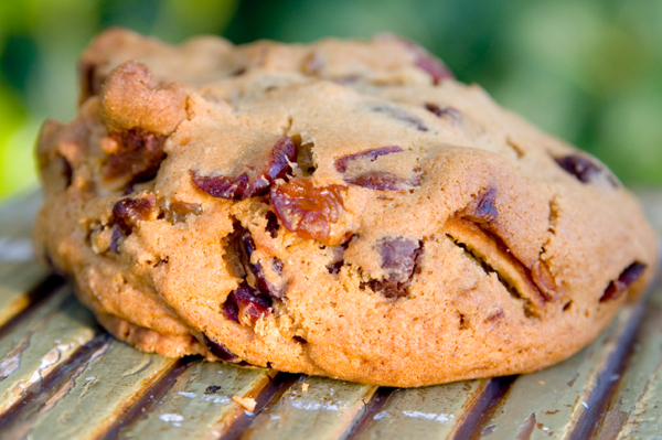 Fruit and nut cookie