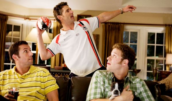 Adam Sandler, Eric Bana and get funny