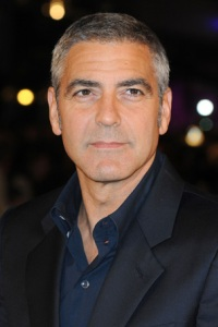 George Clooney for Haiti relief