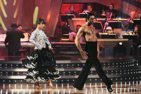 Cheryl Burke and Gilles Marini on Dancing with the Stars