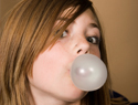 How to remove bubble gum