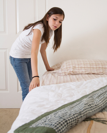 girl making bed [Megapost]: 1001 Curiosidades   Parte 3