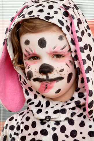 Girl with Dalmation Costume