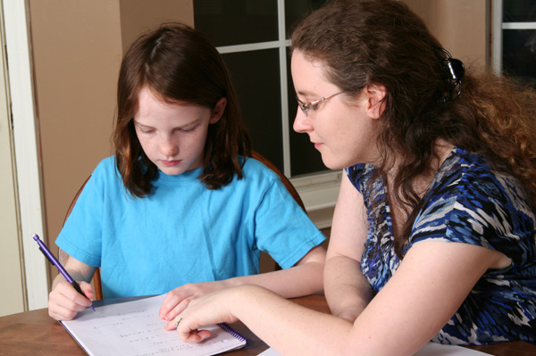 Girl with Tutor