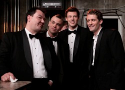 The fearsome foursome on Glee