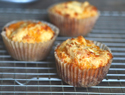 Gluten-free sour cream cheddar cheese muffins