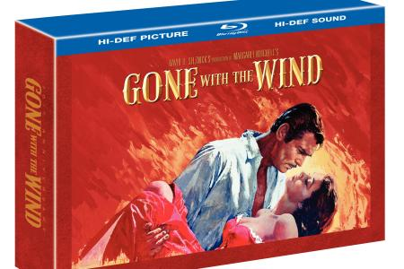 Gone with the Wind 70th anniversary edition Blu-ray is out now