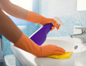 Goodbye, gunk: How to clean mineral buildup in your sink and shower