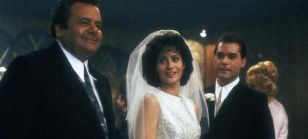 Smile, you're married to the mob in Goodfellas