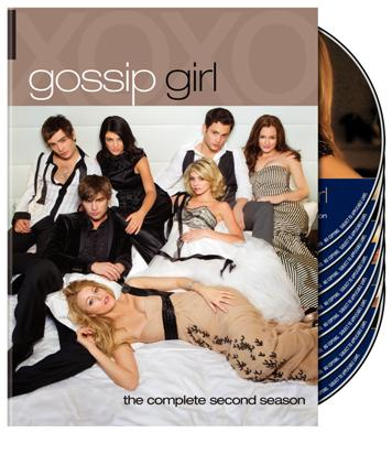 Gossip Girl season two DVD is in stores now