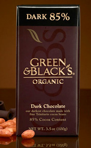 Green & Black's Dark 85% and Syrah 
