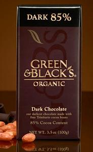 Green & Black's Dark 85% and Syrah