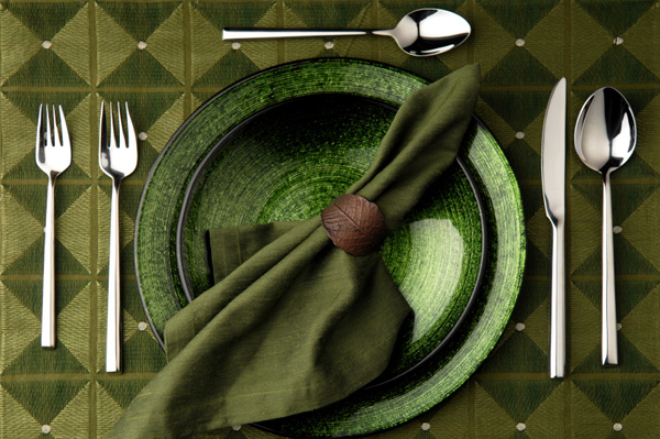 Green Placesetting