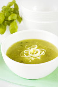 Green Tomato and Squash Soup