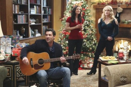Patrick Dempsey jams on the holiday Grey's Anatomy