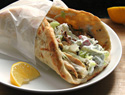 Grilled Greek chicken pitas with simple tzatziki sauce recipe