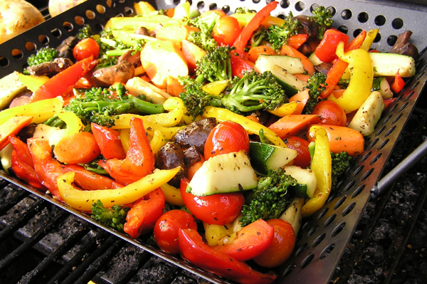 Meat-free recipes on the grill