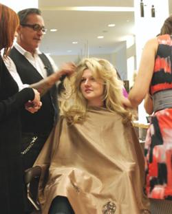 Fashion's fave hair stylist