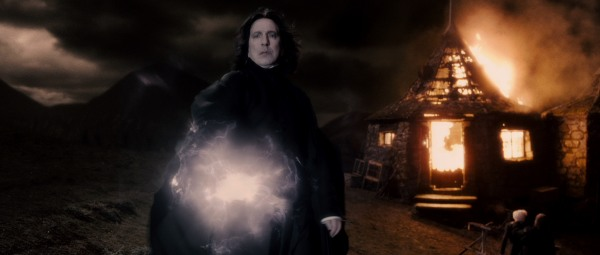 Snape whips Harry Potter and the Half-Blood Prince into a frenzy