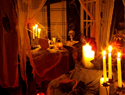 Homemade Halloween party decorations