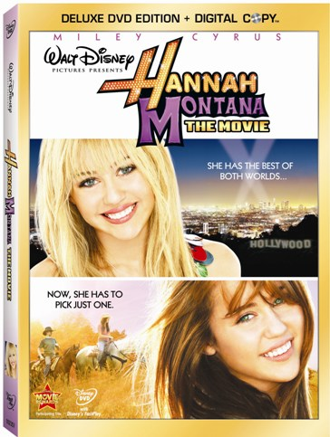 Hannah Montana: The Movie is out now on DVD