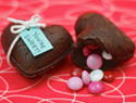 Impress Your S.O. With a Heart-Shaped Brownie Treasure Box on V-Day