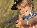 Here's why I let my child play with guns