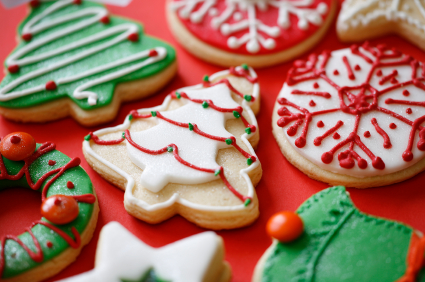 christmas cookie decorating supplies - Christmas Cookie Decorating Supplies