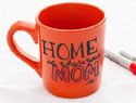 Homemade Mother&#039;s Day mug crafts