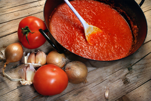Cooking tips for fresh tomato sauce