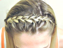 How to create a braided headband