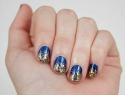 How to create a glitter gradient nail effect