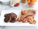 How to expertly cook bacon and sausage