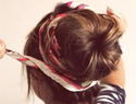 5 Different hair styles for the sock bun