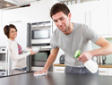 How to get your man to help with the housework: New Year lifestyle changes