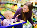 How to go grocery shopping with kids