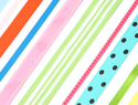 How to make a ribbon pinboard