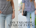 How to tailor a pair of jeans
