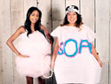 How to make a soap and loofah costume