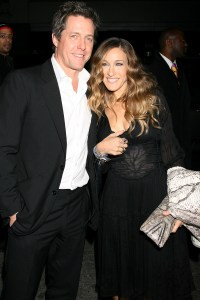 Hugh Grant and Sarah Jessica Parker enjoy London