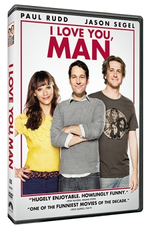 The I Love You, Man DVD I Love You, Man extras. Included in the I Love You, Man DVD release: The Making of I Love You, Man -- An 18-minute feature with cast