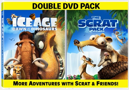 The Ice Age Dawn of the Dinosaurs Scrat Pack
