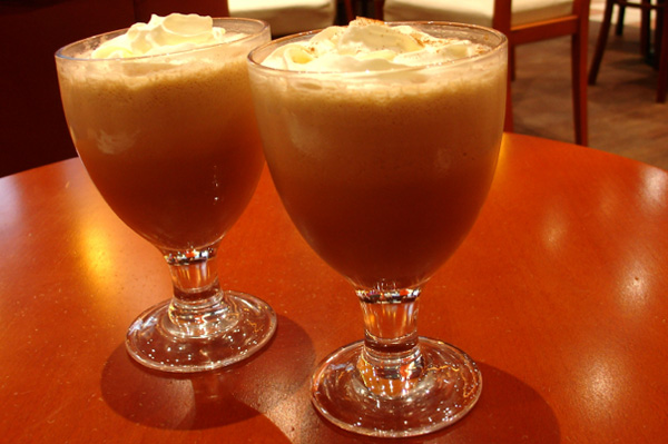 Refresh with icy coffee cocktails