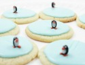 Ice skating penguin cookies will be the envy of this year's treat exchange
