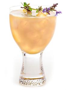 ZEN Blossom Iced Tea Cocktail