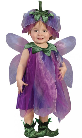 baby in fairy costume