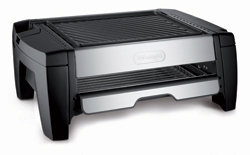 De'longhi Two-Tier Indoor Grill with Smokeless Broiler