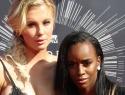 PHOTOS: Ireland Baldwin, Angel Haze pack on PDA at VMAs