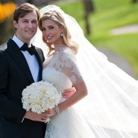 Ivanka on her big day
